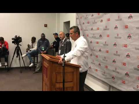 Urban Meyer's press conference after Ohio State's loss to Oklahoma