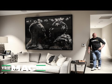 Dana White Give a Tour of the new UFC Apex Facility