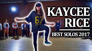Kaycee Rice - Best Solo Dances 2017