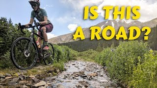 GRAVEL BIKE ADVENTURE RIDE -- Testing the limits of the Jamis Renegade