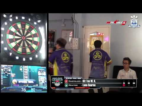 Online League Battle - Dartsland (HK) VS Newton (MO) Game 3