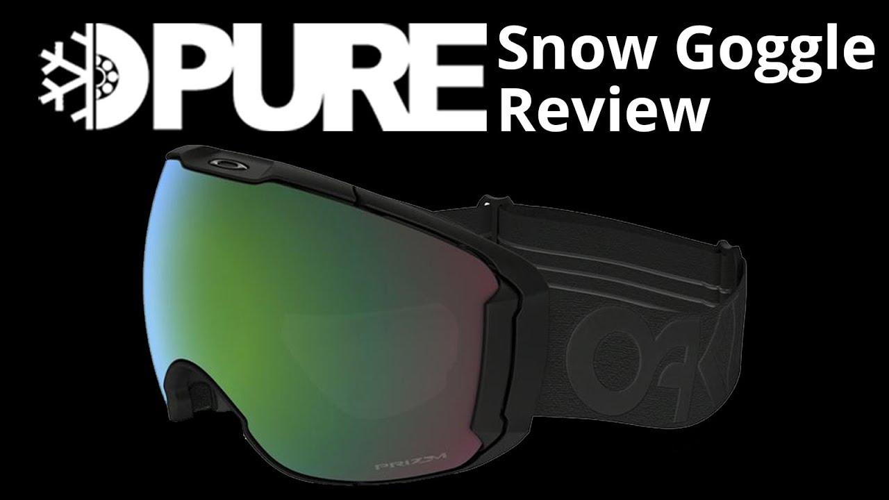 a231779cb0c4 Oakley Airbrake XL Prizm Snow Goggle Review - PureBoardShop.com ...