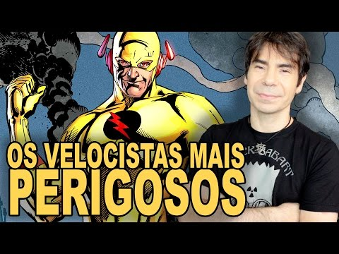 THE FLASH | OS 5 VELOCISTAS MAIS PERIGOSOS