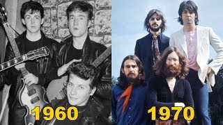The Beatles Evolution - From 1960 To 1970