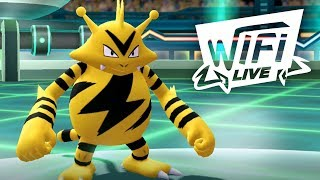 Pokemon Let's Go Pikachu & Eevee Wi-Fi Battle: Electabuzz Leaves You Shocked! (1080p)