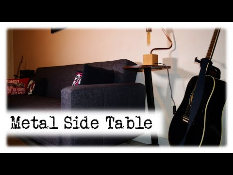 Metal Side Table (First Time Welding) || DIY