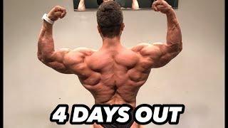 Bodybuilding motivation quads and arm workout | regan grimes 4 days out