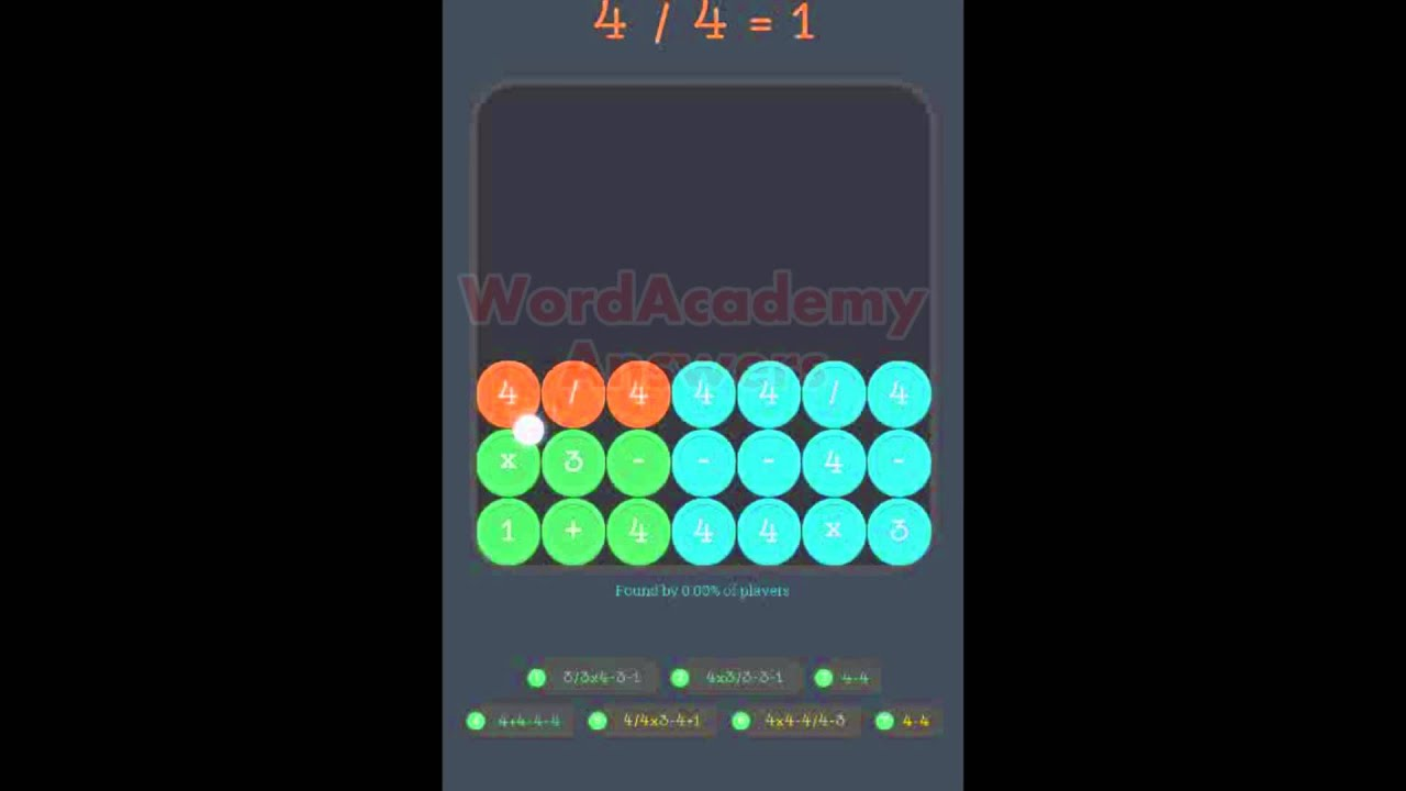 Math Academy Four 3x3 Squares Answers - YouTube