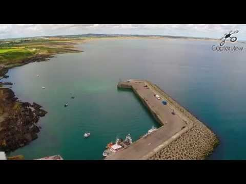 Clogherhead  Co. Louth Ireland From Above