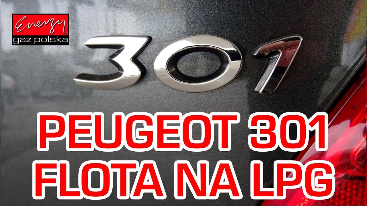 montaż lpg peugeot 301 z 1.6 115km 2015r w energy gaz polska na