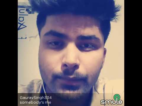 Somebody' s me...| unplugged version | Enrique  | cover by Abhishek | #Somebodysme | Romantic song |