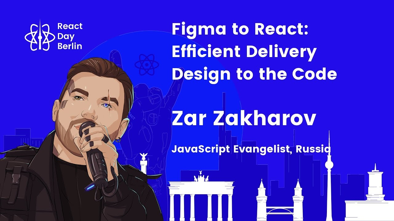 Lightning talks – Figma to React: Efficient Delivery Design to the Code – Zar Zakharov