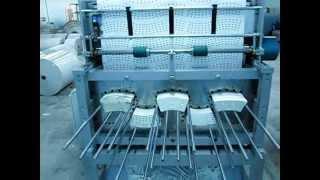 4 renk flexo baskılı karton bardak şablon kesme makinesi