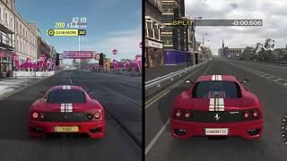 Edinburgh Princess Street Circuit | Project Gotham Racing 2 vs Forza Horizon 4 Comparison