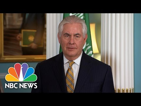 Rex Tillerson Finally Answers One Of Andrea Mitchell's Questions | NBC News