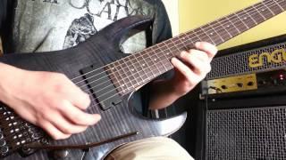 Tiksu - 'Devil Theory' - Delay Arpeggio (Jeff Loomis)  HD
