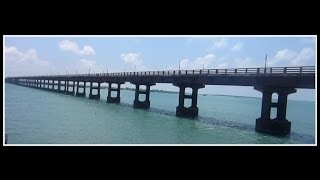 One Of The Deadliest Bridges In The World : The Pamban Bridge