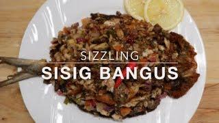 HOW TO MAKE   SIZZLING   SISIG BANGUS   RECIPE