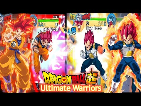 DOWNLOAD New DBZ Ultimate Warriors Z Tap Battle Mod Apk For Android