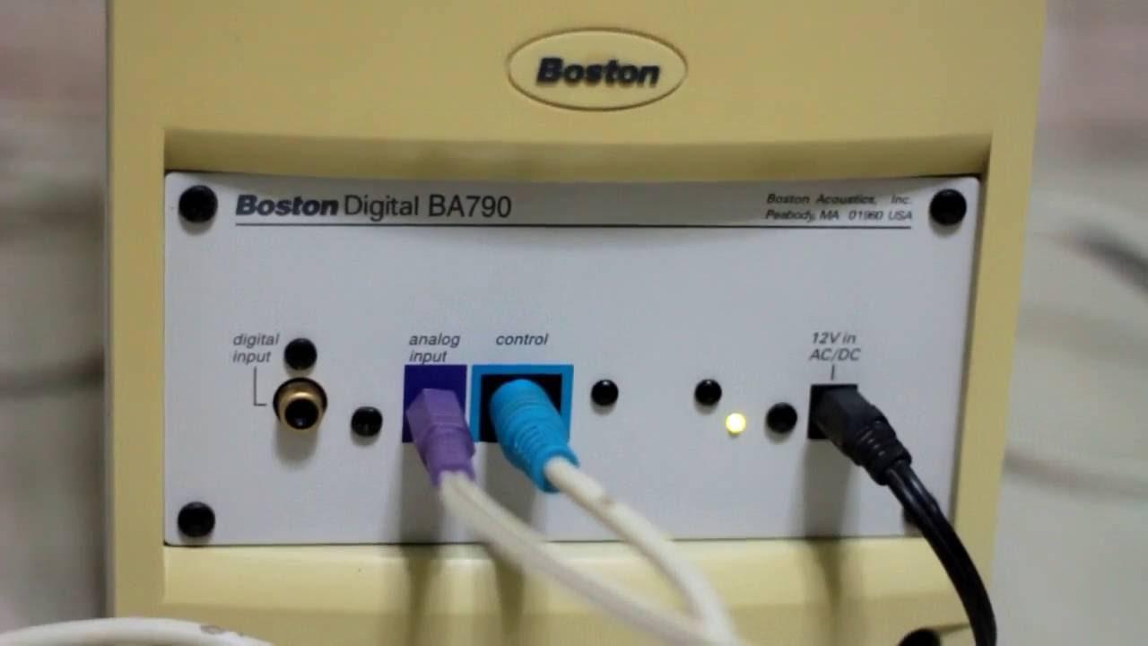 boston ba790 youtube rh youtube com Boston BA635 Power Supply Boston Acoustics Computer Speakers Multimedia