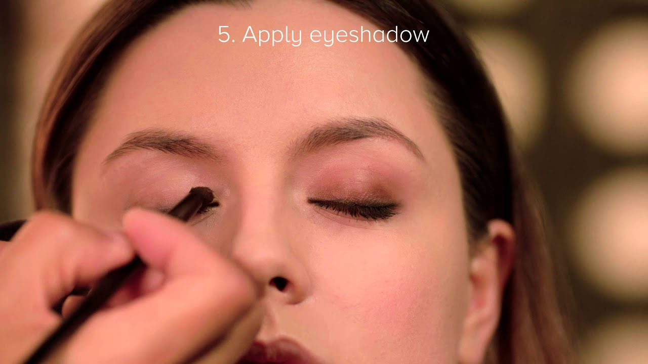 the correct way to apply makeup - youtube