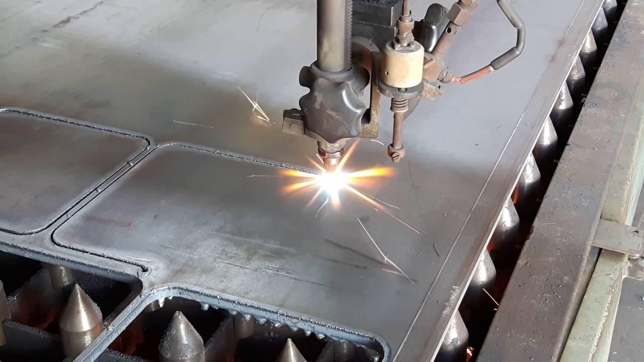 Lasern Metall Mit Laser Schneiden Youtube