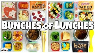 HOT LUNCHES and FUN SANDWICHES!🍎 School Lunch Ideas for KIDS