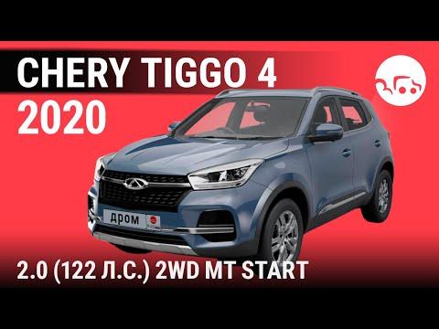 Chery Tiggo 4 2020 2.0 (122 л.с.) 2WD MT Start - видеообзор