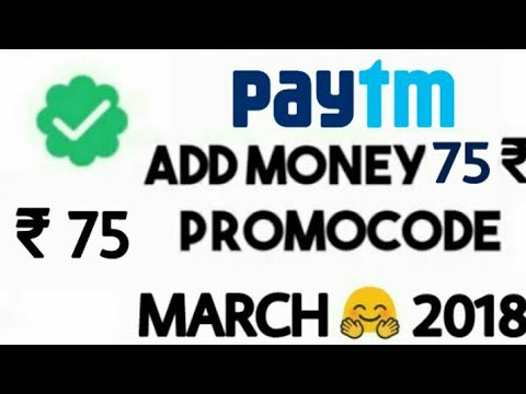 New ₹75 Add MONEY PROMOCODE 2018 || PAYTM New Add MONEY Rs.75 PROMO CODE by Technical Ravi