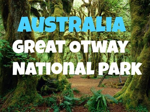 Australia - The Great Otway National Park In 1 Minute