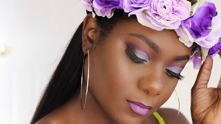 Get Ready With Me | Coachella Inspired Makeup Look | KimAllure