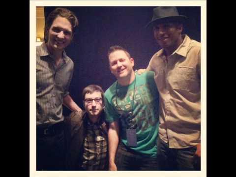 James Lesure, Adam Busch, and Michael Cassidy of Men at Work