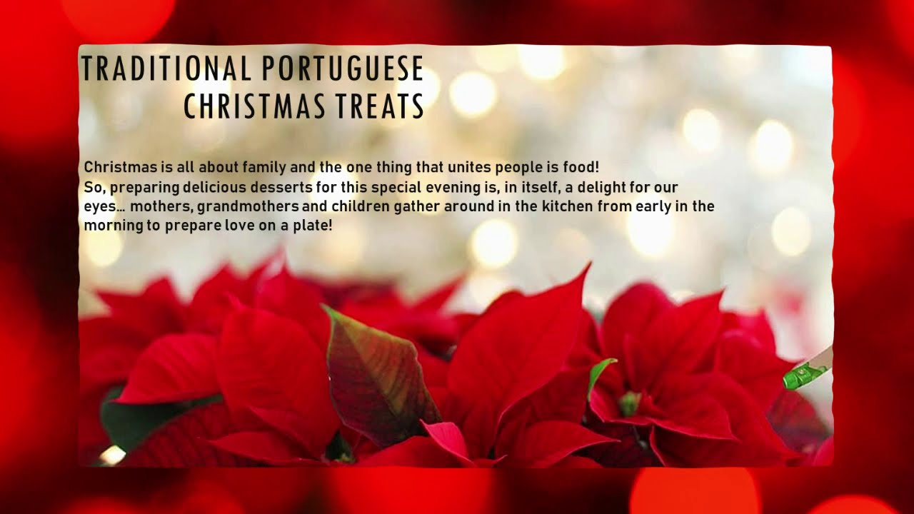 Traditional portuguese christmas treats