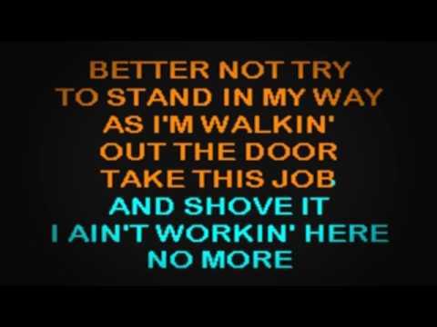 SC0903 01   Paycheck, Johnny   Take This Job & Shove It [karaoke]