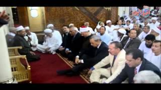 محافظ قنا يودي صلاة العيد بمسجد سيدي عبد الرحيم القنائي