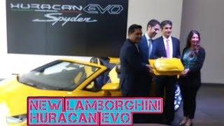 New lamborghini Huracan EVO spyder opne Air Exhilaration