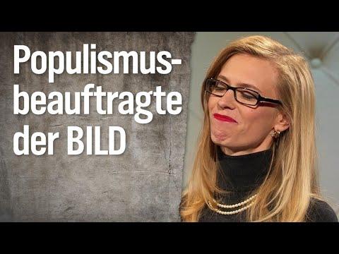 Populismusbeauftragte der BILD-Zeitung Valeska Heimer | extra 3 | NDR
