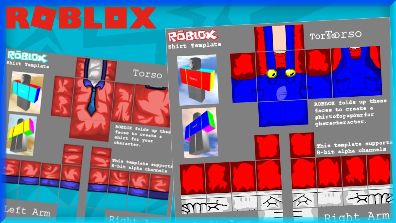 How To Make Shirts On Roblox Youtube Anlis