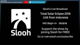 Watch Total Solar Eclipse LIVE from Indonesia!