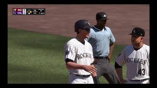 MLB Baseball - Philadelphia Phillies @ Colorado Rockies - MLB The Show 18 Simulation 27/9/18