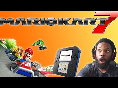 MARIO KART 7 Nintendo 2DS Bundle Unboxing!!