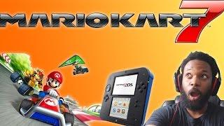 MARIO KART 7 Nintendo 2DS Bundle Unboxing!!