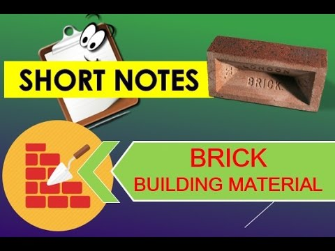 BRICK Lecture 4 Building Material