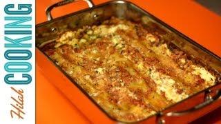 Vegetarian Lasagna Recipe - Homemade Lasagna