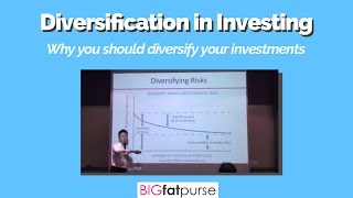Diversification in Investing - Why You Should Diversify Your Investments