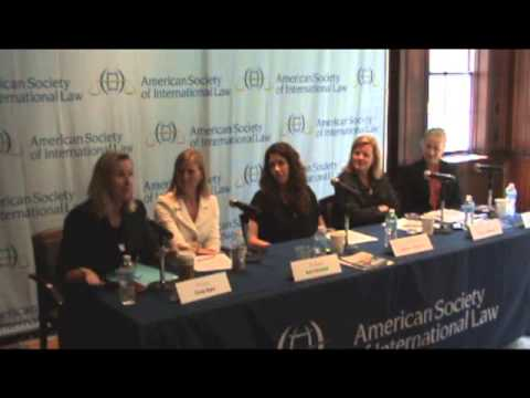 Women in International Law Networking Breakfast - 2013