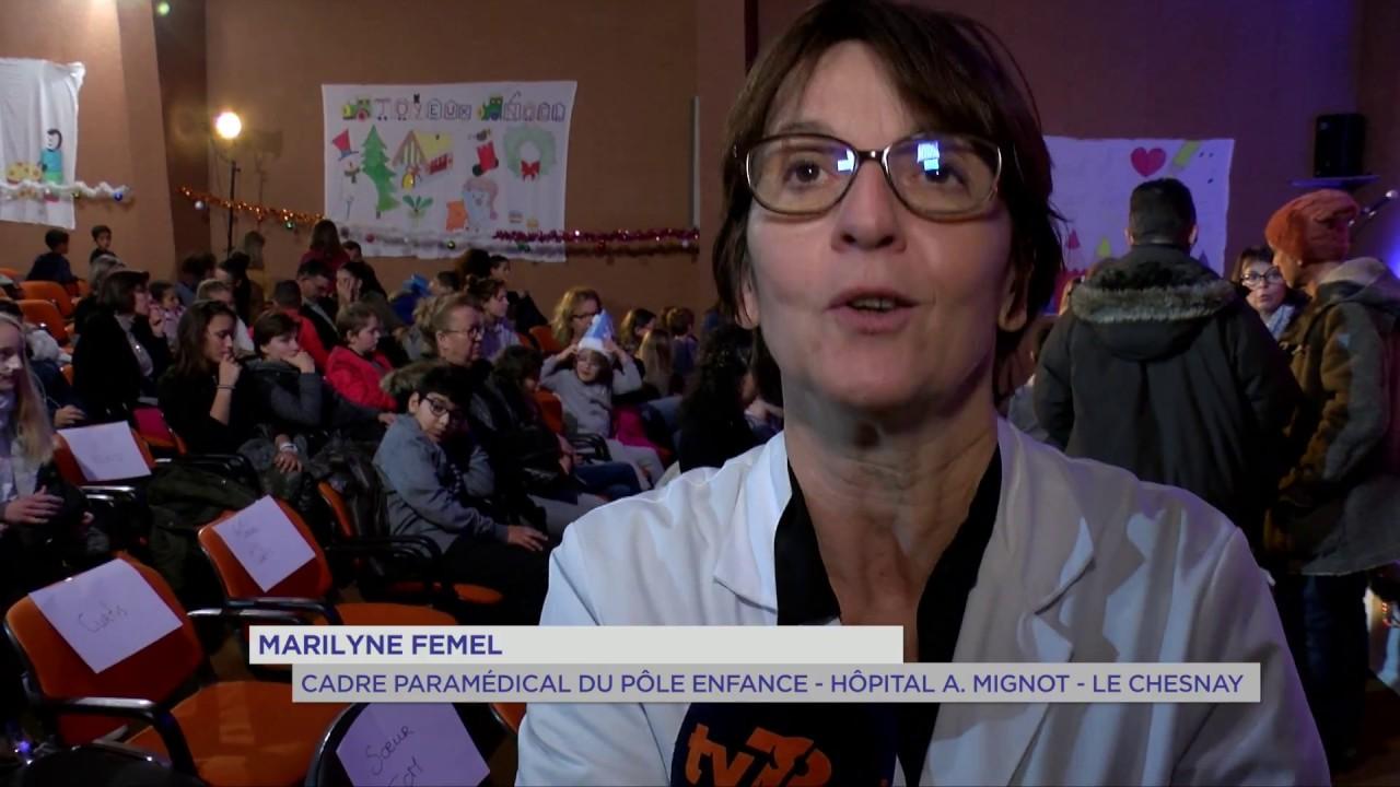 Santé : rire pour guérir à l'hôpital André Mignot du Chesnay