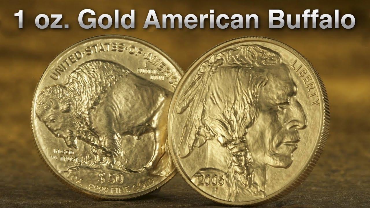 1 Oz Gold American Buffalo Coin You