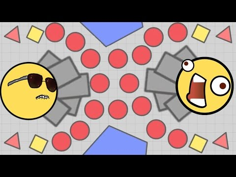 DIEP.IO HUGE UPDATE! - New DIEP.IO DOMINATION Gamemode & NEW BEST TANK!