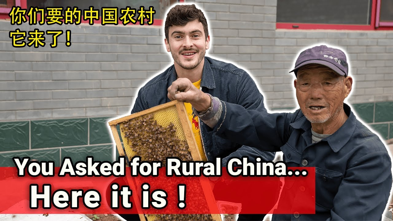 The Most Unforgettable Experience We've had in China (First Foreigner he's EVER SEEN) // 我们在中国最难忘的经历
